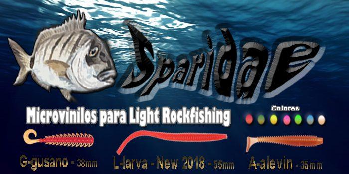 Vinilos para Rockfishing SPARIDAE – Canarias.